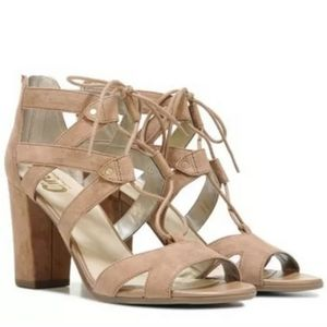 Sam edelman block heel lace up sandals